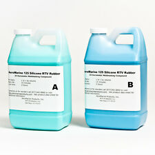 SILICONE RTV MOLD-MAKING RUBBER  SIMPLE 1:1 MIX 1GALLON KIT