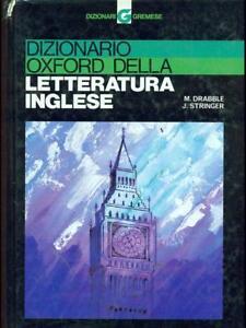 Dictionnaire Oxford Della Littérature Anglais Drabble M Resserre J Entêtégremese