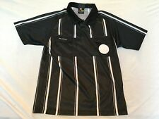 Final Decision Soccer Referee Jersey Adult Small Black New