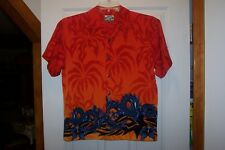 Pineapple Connection Youth Large RED W/Blue Dragons Anime Shirt