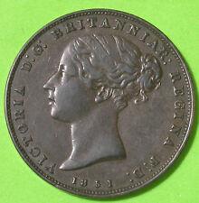 Jersey Victoria 1/26 Shilling 1851 Cuivre