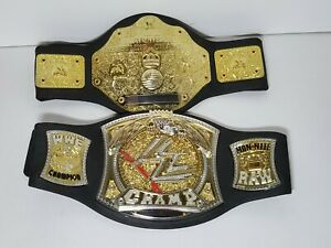 WWE 2003 Championship Belt, 2005 Mon Nite Raw Foam Belt Lot Jakks Pacific READ