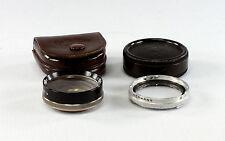 Rolleiflex Rolleicord Rolleinar 2 - with Rolleipar 2, in original leather case