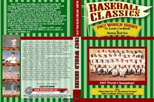 1967 World Series Cardinals-Red Sox w/oldest Red Sox TV Game on DVD!
