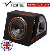 """EDGE 10"""" Car Audio 750W Peak Sub Active Bass Subwoofer Speaker Amp & Enclosure"""