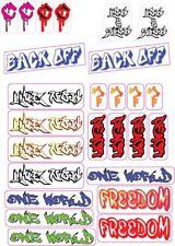 HO Graffiti carriage stickers
