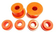 CLASSIC MINI POLYFLEX LATE REAR SUBFRAME BUSH KIT ORANGE ROVER AUSTIN 1976> 2CA1