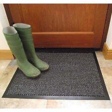 Enlace de entrada de casa Barro Suciedad Polvo puerta Barrera Estera Alfombra Antideslizante 60x80cm lavado a máquina