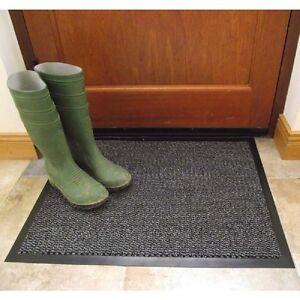 60x80cm Home Entry Link Mud Dirt Dust Door Barrier Mat Rug NonSlip 100% Recycled