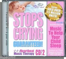 Heartbeat Music Therapy, Vol. 2 - Stops Crying: Calm Your Child To Sleep- New CD