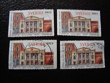 SUEDE - timbre yvert et tellier n° 2024 x4 obl (A29) stamp sweden (A)