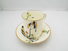 ROYAL DOULTON ART DECO COFFEE CAN AND SAUCER 'EDEN TREE' PATTERN