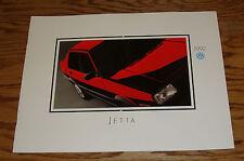 Original 1992 Volkswagen VW Jetta Deluxe Sales Brochure 92