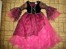 Beautiful Spider Web Vampiress Dress Halloween Costume. Sz. Girl's 6-8.