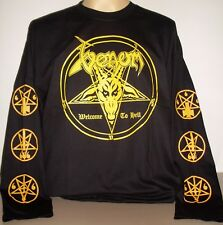Venom Welcome To Hell Long Sleeve T-Shirt Size S M L XL 2XL 3XL Black Metal Band