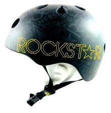 Capix Snow Wake Skate Helmet Large/Extra Large Rockstar Suppressor Black Matte