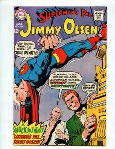 Superman's Pal Jimmy Olsen #109 (1968) Lex Luthor Cover High Grade VF/NM 9.0
