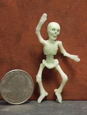 Dollhouse Miniature Halloween Skeleton Glows 1:12 inch scale F49 Dollys Gallery