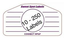 Golf Club Multi Impact Tape Labels 10 To 250 Lesson Training Irons Woods Wedges