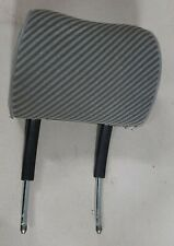 (1) 92-95+ VW Eurovan Rialta Camper Striped Gray Cloth Head Rest Fully Adjusting