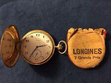 Orologio da tasca Longines oro 18Kt - 7 Grand Prix Vintage 1920/30