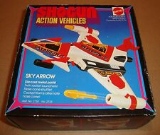 SHOGUN ACTION VEHICLES DANGUARD ACE SKY ARROW MATTEL 1978