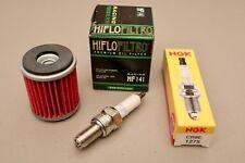 Yamaha YFZ450 Tune Up Kit NGK CR8E Spark Plug Oil Filter YFZ 450 FAST SHIP!!!