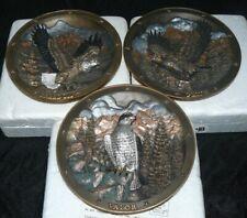 Set of 3 Bradex Sovereigns of the Sky Collector Plates Spirit of. G Dieckhoner