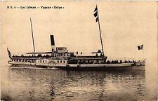 """CPA   Lac Léman - Vapeur """"Evian""""   (439528)"""