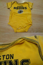 Infant/Baby Boston Bruins 12 Mo Creeper (Yellow)