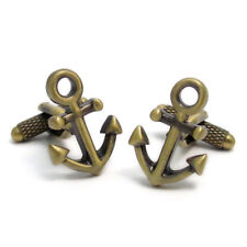 Beautiful Ship's Anchor Cufflinks by Onyx Art New Boxed Sailing CK748