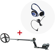 """Xp Deus With Ws4 Display + 9"""" Search Coil + Fx-02 Wired Backphone Headphones"""