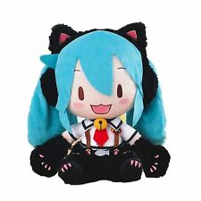 Sega Vocaloid Hatsune Miku in Neko Cat Costume Jumbo Soft 13'' Miku Plush SG9303
