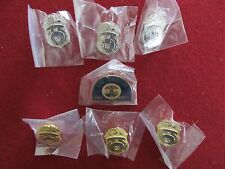 LAFD Los Angeles Fire Department Mini Badge Set of Pins!!  ~ Set of 7 Hat Pins!
