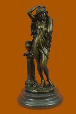 Patoue Bronze Statue Art Nouveau Deco Naked Girl Sculpture Statue Figurine Sale