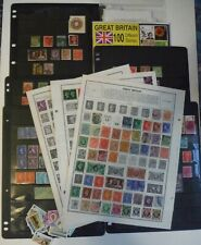 400+ Great Britain Postage Stamps Inc 1 Lotta Stamps & 1 100 Stamp Packet