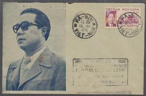 Vietnam South FDC Bao Dai King 10-11-1952 Hanoi P.M.