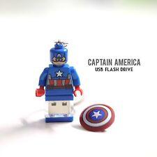 USB Flash drive custom captain america 32GB   Hand crafted