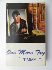 Timmy T One More Try (Cassette)