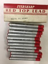 EXTRA HARD Vintage Case of 12 tubes of Eversharp Lead  mechanical pencil  Leads