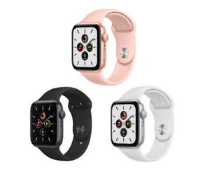 NEW - Apple Watch SE (GPS) 40MM - Silver / Gold / Gray - 1 Year Apple Warranty