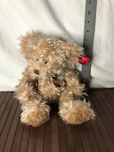"""NWT Russ """"Bears From The Past"""" Radcliffe 10"""" Stuffed Plush Teddy Bear with Bow"""