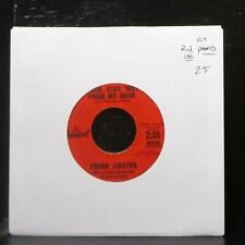 "Frank Sinatra - River, Stay 'Way From My Door 7"" VG+ Promo Vinyl 45 Capitol 4376"