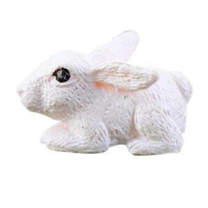 Miniature Figurine Plant Pot Fairy Resin Decoration Mini Rabbit Garden Ornament