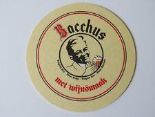 Belgian Beer Coaster Van Honsebrouck Bacchus — Ingelmunster, West-Vlaanderen, BE