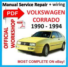 #OFFICIA WORKSHOP MANUAL service repair FOR VOLKSWAGEN CORRADO–BENTLEY 1990-1994