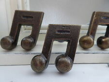 Music Note Drawer Pull Knob ~ Antique Bronze Oil Rubbed Bronze Home Decor ~ NEW