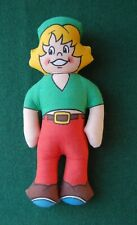 More details for bisto kids doll - retro 80s nspcc children's charity - uk vintage - cute decor