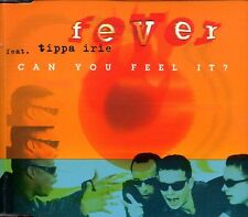 Fever feat. Tippa Irie - Can You Feel It? ° Maxi-Single-CD von 1996 °