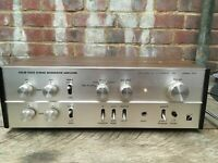 Vintage Luxman SQ 707ii Amp Solid State Stereo Integrated Amplifier Lux Corp 75